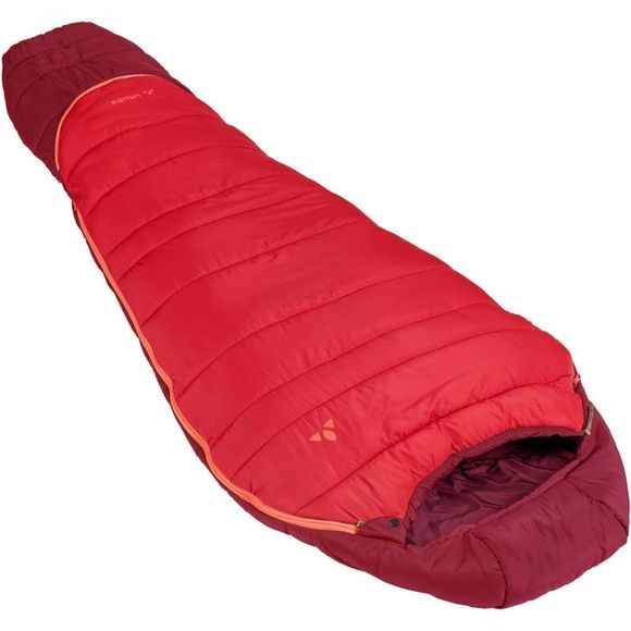 Vaude Slaapzak Kobel Adjust 500 Syn Middenrood/Donkerrood