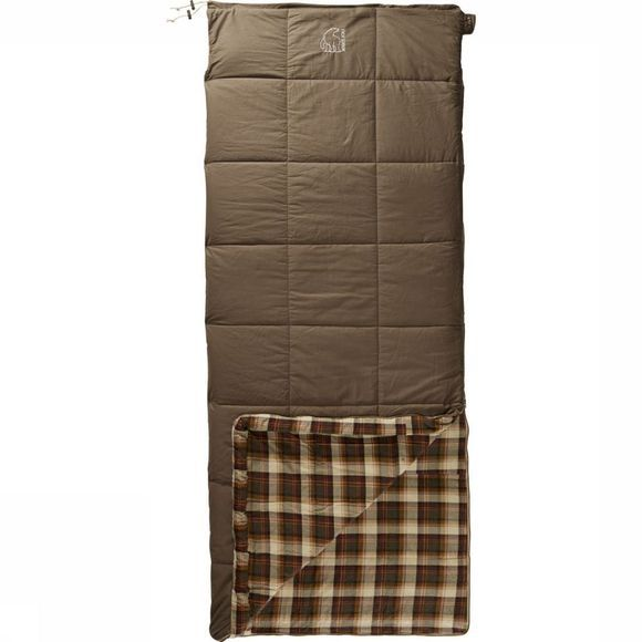 Nordisk Sleeping Bag Almond +10 mid brown/Assortment Geometric