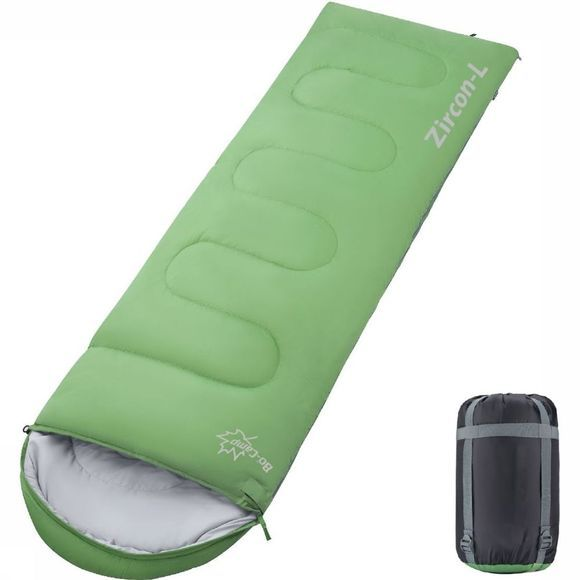 Bo-Camp Sleeping Bag Zircon L 220X75 Cm light green