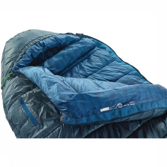 Therm-a-Rest Sleeping Bag  Saros 0F/-18C Reg Petrol