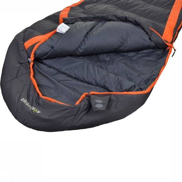 Ayacucho Sac de Couchage Ignition Hybrid Orange/Noir