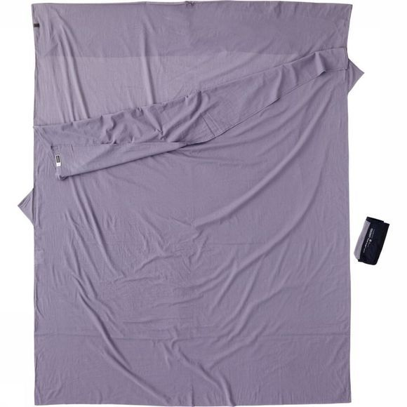 Cocoon Lakenzak Travelsheet Double Insectshield Egypt Middengrijs