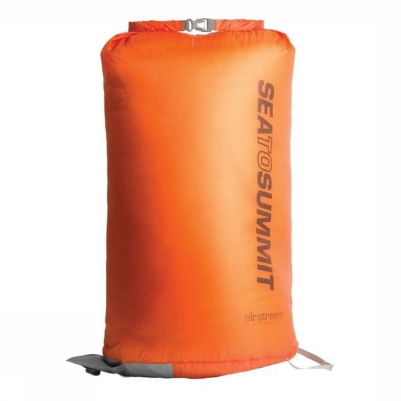 Sea To Summit Pomp Air Stream Dry Sack Oranje