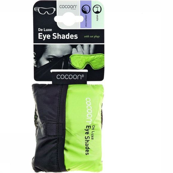 Cocoon Accessory Eye Shades De Luxe light green/mid grey