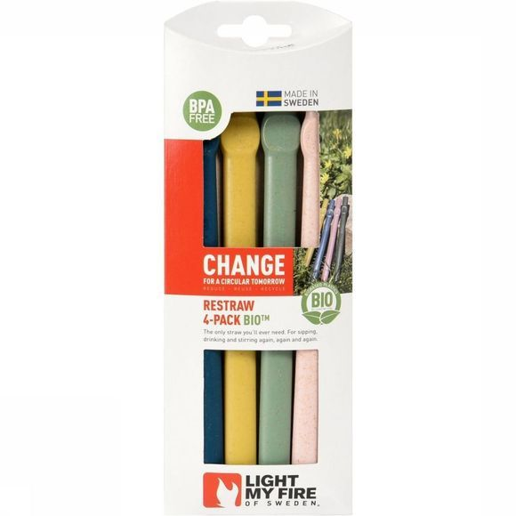 Light My Fire Miscellaneous Restraw Bio 4-Pack No Colour