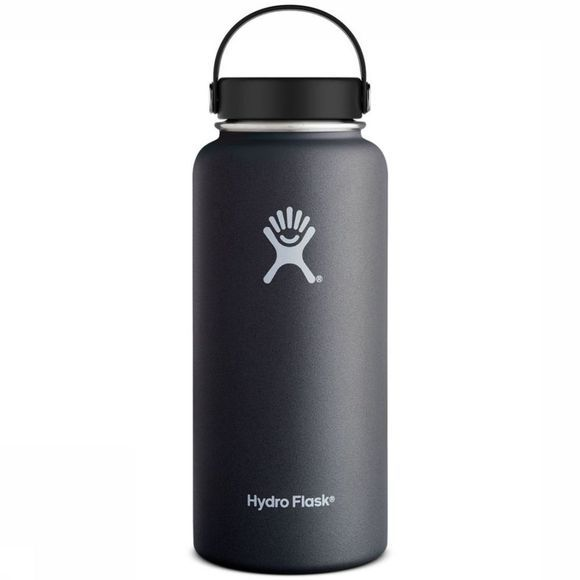 Hydro Flask Bouteille Isotherme 32oz/946ml Wide Mouth Noir