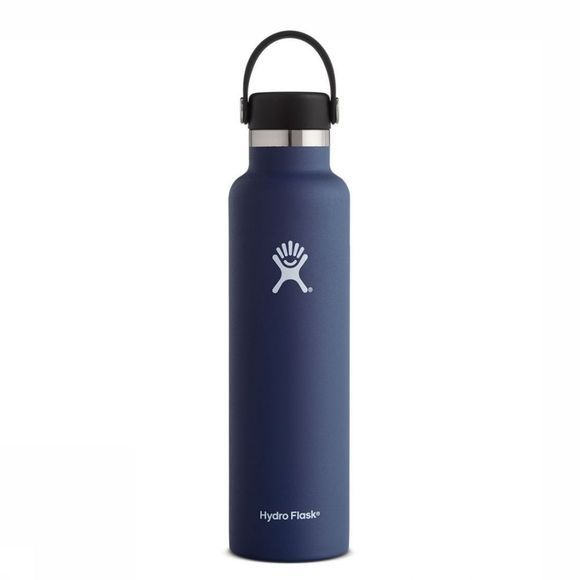 Hydro Flask Isolatiefles 24oz/709ml Standard Mouth Donkerblauw