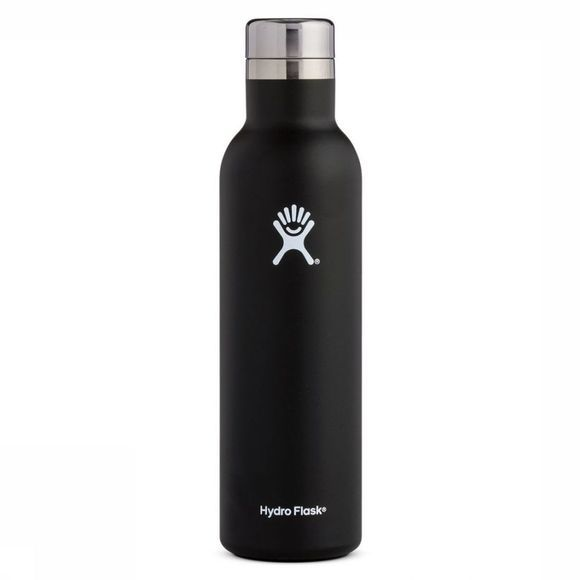 Hydro Flask Isolatiefles 25 OZ/740ml Wine Bottle Zwart