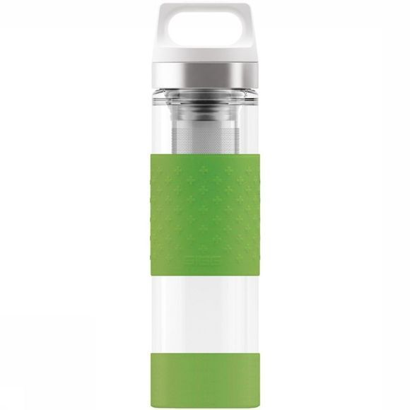 Sigg Isolatiefles Hot/Cold Glass Wmb 0.4L Groen