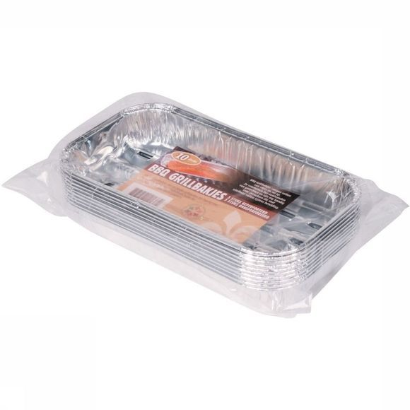 Lily Réchaud Barbecue Grillbakjes 10 Stuks Argent