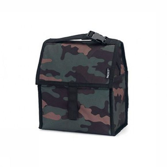 Packit Cool Bag Freezable Lunch Bag dark khaki