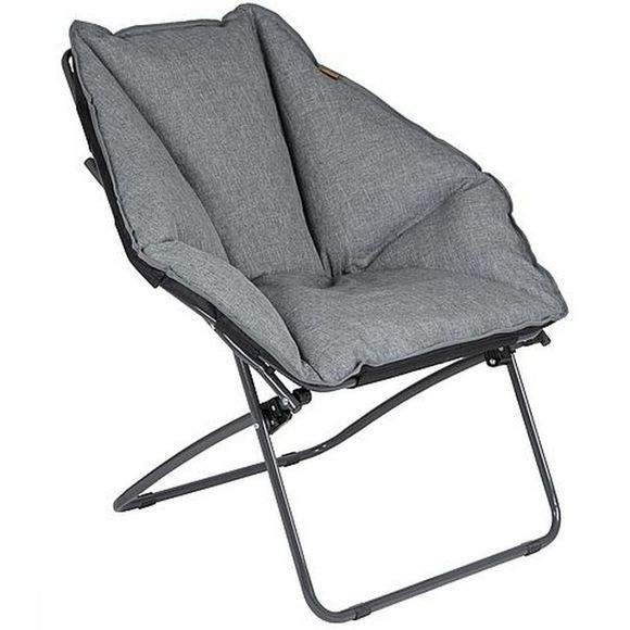 Bo-Camp Chaise Urban Outdoor Silvertown Gris Moyen