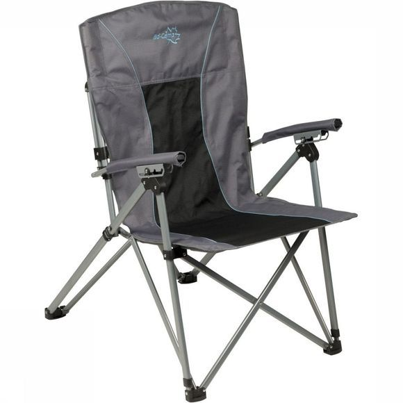 Bo-Camp Chair Deluxe King Plus 4-Standen dark grey