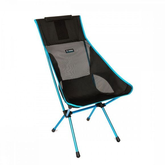 Helinox Chaise de voyage Sunset Chair Noir/Bleu