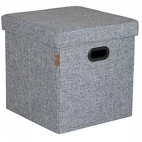Bo-Camp Miscellaneous Ottoman Holborn light grey