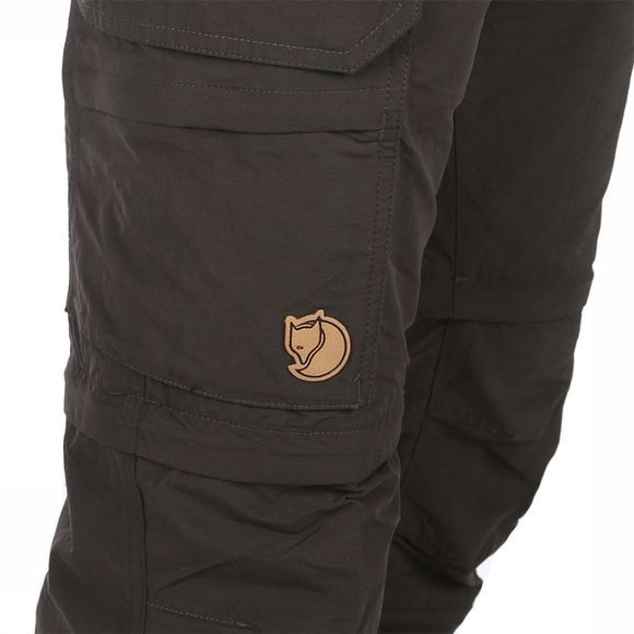 Fjällräven Broek Cape Point Micro Travel 3 Stage Donkergrijs