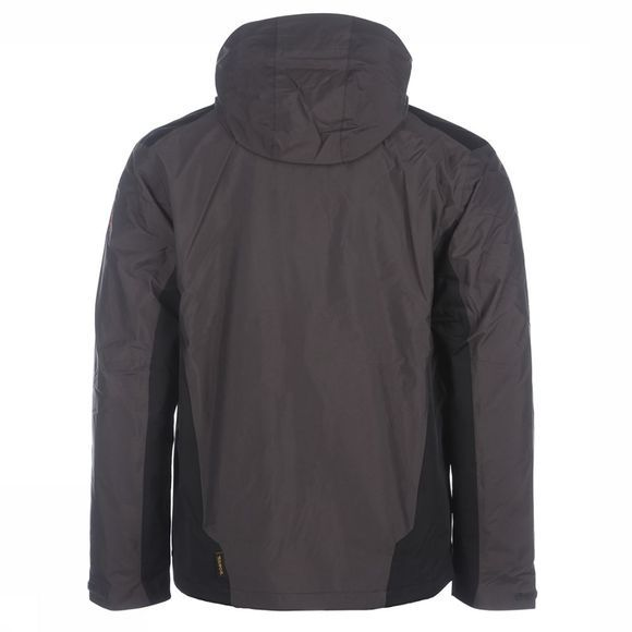 Jack Wolfskin Coat Prisma dark grey