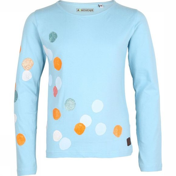 Ayacucho Junior T-Shirt Dots Lichtblauw
