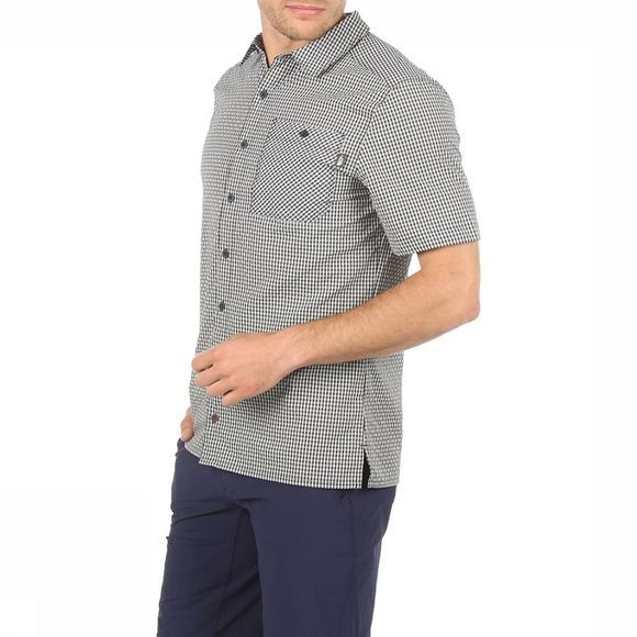 The North Face Chemise Hypress Ss marine/Blanc