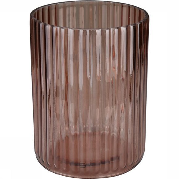 Yaya Home Accessoire Vase Clear Nude Glass NATUREL