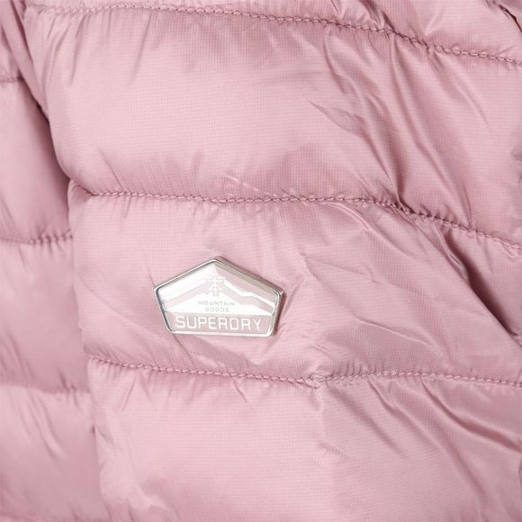 Coat Luxe Fuji Double Zip Hood