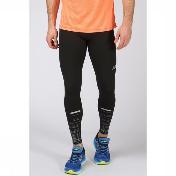 New Balance Pantalon Impact Tight Print Noir/Exceptions