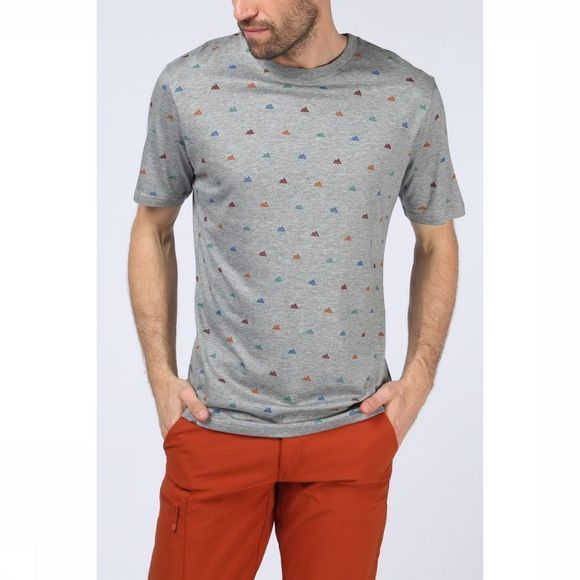 Ayacucho T-Shirt Multi Mini Mountain Donkergrijs Mengeling