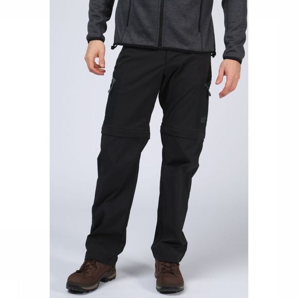 Jack Wolfskin Pantalon Activate Light Zip-Off Noir
