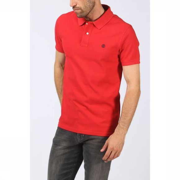 Timberland Polo Ca1Lil Middenrood