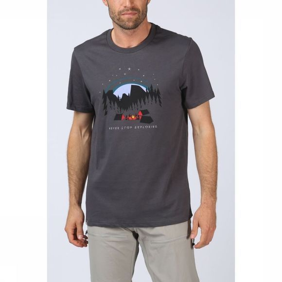 The North Face T-Shirt Nse Series Donkergrijs
