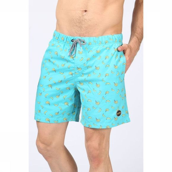 Shiwi Swim Shorts Bananas Turquoise/Assortment Geometric