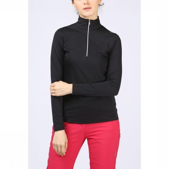 CMP Fleece Wmn Sweat Interlock Zwart
