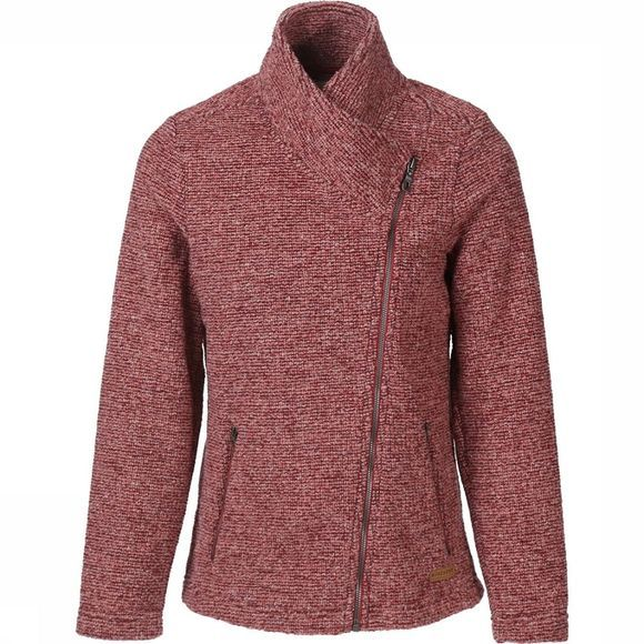 Ayacucho Fleece Copenhagen Donkerrood/Wit