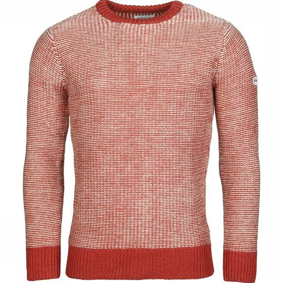 Ayacucho Pull Carcassonne Wool Rouille/Ecru