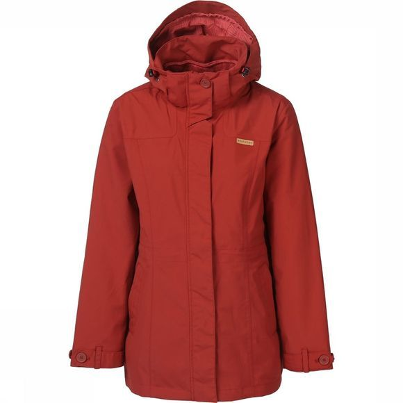 Ayacucho Coat Ontario 3In1 dark red