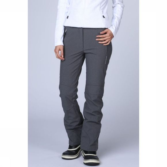 Icepeak Softshell Outi Pant Donkergrijs Mengeling