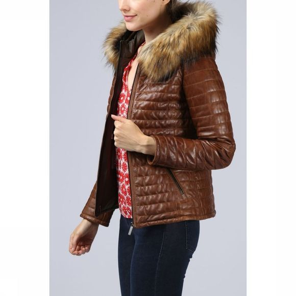 Oakwood Coat Fury camel