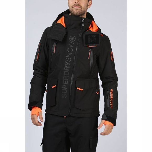 Superdry Manteau Ultimate Snow Rescue Noir