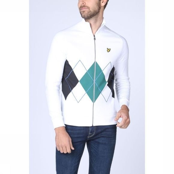 Lyle & Scott Cardigan 1901-Ml1015V white/dark green