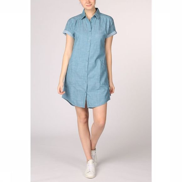 The North Face Jurk Sky Valley Dress Jeansblauw