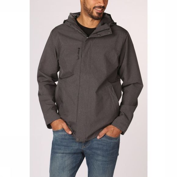 Lafuma Manteau Traveller Zip In Gris Foncé