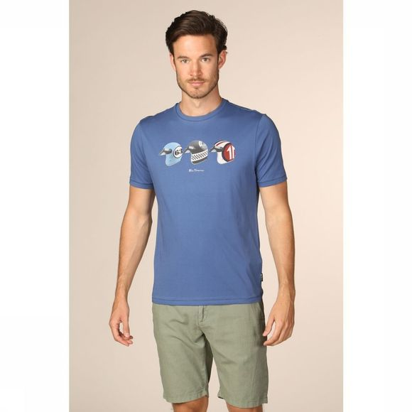 Ben Sherman T-Shirt Ts-0054821 mid blue