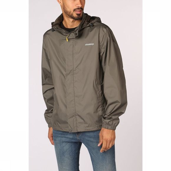 Ayacucho Waterproof Jacket Stowaway Eco dark grey