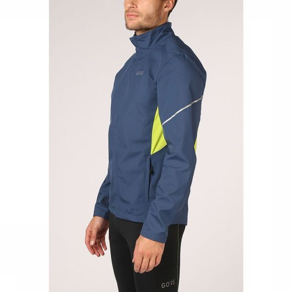 Gore Wear Windstopper R3 Partial Gws Blauw/Lime