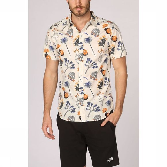 The North Face Hemd Baytrail Ss Shirt Wit/Assortiment