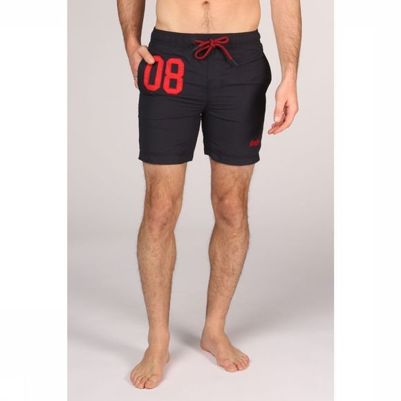 Superdry Short De Bain Water Polo marine
