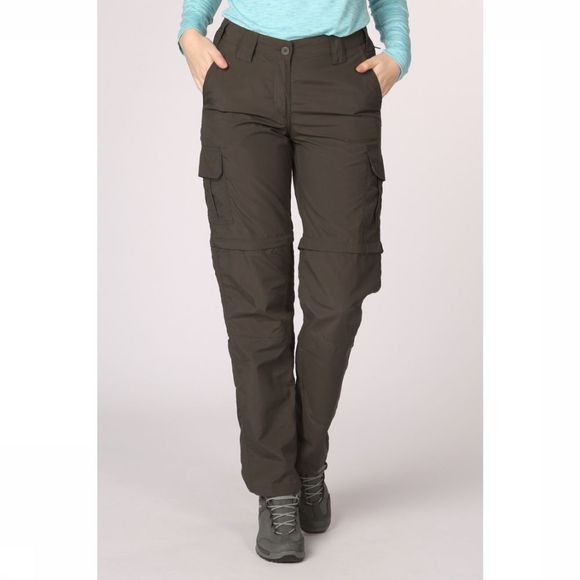 Ayacucho Trousers Naryn II Zip-Off mid grey