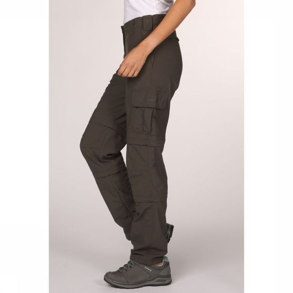 Ayacucho Trousers Naryn II Double Zip-Off mid grey
