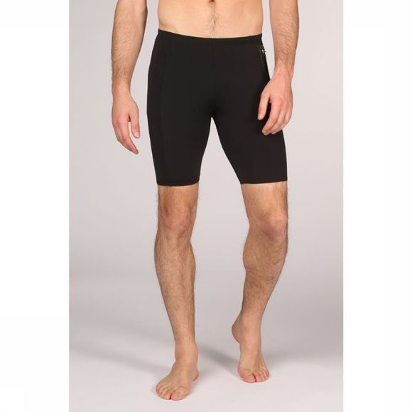 Speedo Slip Pocket Jammer Zwart/Lime