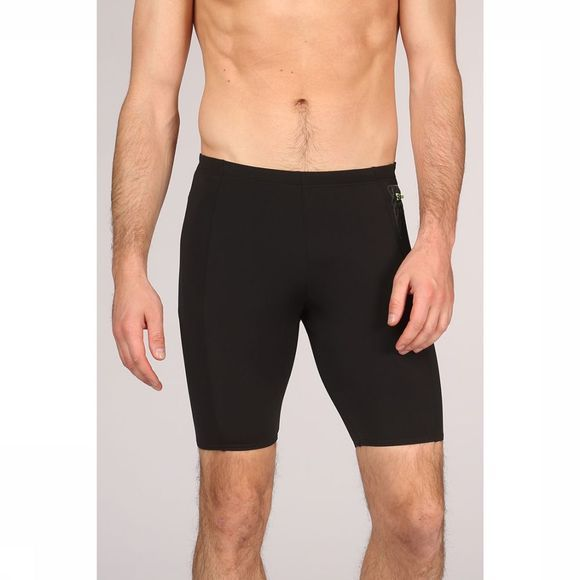 Speedo Slip Pocket Jammer Noir/Lime